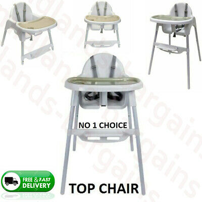 £27.99 • Buy Baby Highchair Infant Babies Kiddies High Feeding Seat Toddler Table Chair New