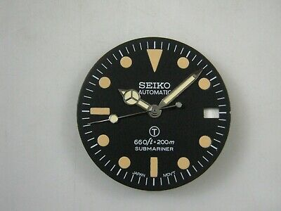 $ CDN71.34 • Buy New Aged Seiko Dial Date + Hands Mod Sub Military Date For SKX031 NH36 / 7s26
