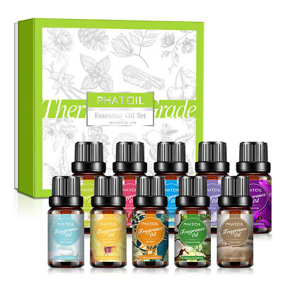 AU33.89 • Buy 20Pcs Essential Oil Set Aromatherapy Gift 100%Pure Oils Lavender For Humidifier