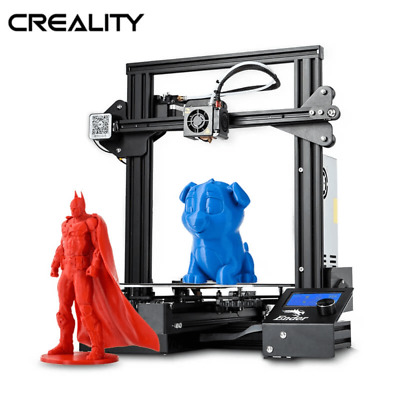 Used Creality Ender 3 Pro 3D Printer 220X220X250mm DC 24V Meanwell Power Supply • 144.99£