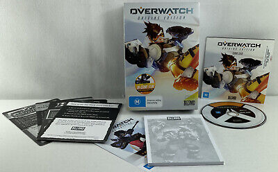 AU8 • Buy Overwatch Origins Edition PC Game - USED Good Condition Includes Notepad & Cards