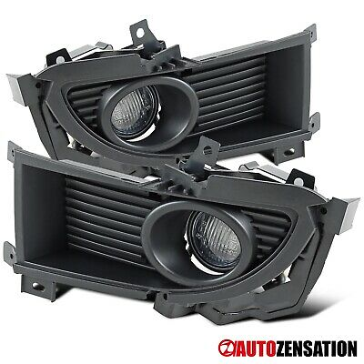 $30.99 • Buy For 2004-2005 Mitsubishi Lancer Ralliart Clear Fog Lights Lamps+Switch+Bulbs