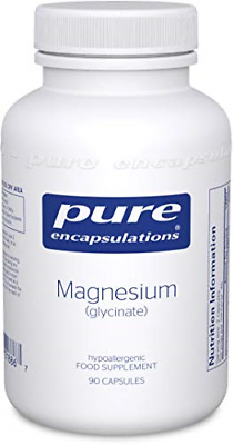 £31.46 • Buy Pure Encapsulations - Magnesium Glycinate 120mg - Bioavailable Magnesium Chelate
