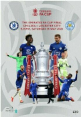 £14.99 • Buy 2021 FA CUP FINAL OFFICIAL PROGRAMME - CHELSEA V LEICESTER CITY