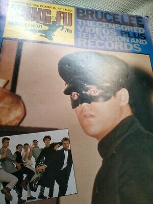 £20 • Buy Bruce Lee Kung Fu Monthly Reduced Today Poster Mag , No 71 No Pin Or Tac