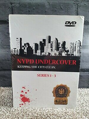 £12.50 • Buy Nypd Undercover Keeping The City Clean Series 1-3 Dvd Boxset, With Safe