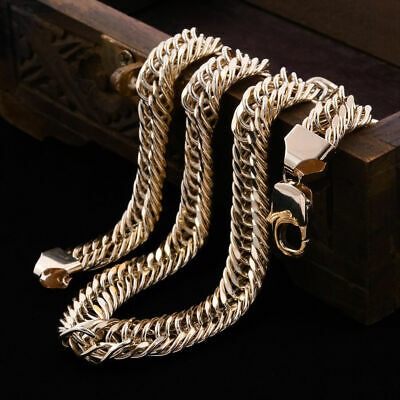 £1996.09 • Buy Royal Bali Collection 9K Yellow Gold Herringbone Chain Necklace For Women 20 ''