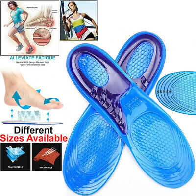 £3.25 • Buy Orthotic Insoles For Arch Support Plantar Fasciitis Flat Feet Back & Heel Pain