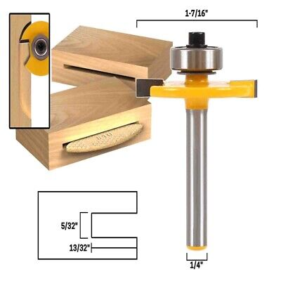 £9.59 • Buy #10 Biscuit Joint Slot Cutter Router Bit - 1/4  Shank  UK