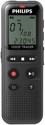 £21.99 • Buy Philips DVT1150 4GB Dictation Machine, Black *Fast And Free Delivery*