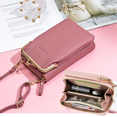 Women Mobile Phone Bag PU Leather Crossbody Mini Purse Wallet Shoulder Pouch ACE • 9.99£
