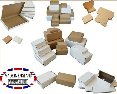 £9.99 • Buy Postal PIP Boxes Mail Shipping Carton Postage Multi Listing Packing Small Parcel