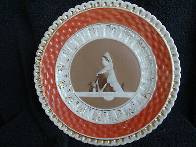 £19.95 • Buy Antique Queen Victoria 1887 Jubilee Plate - Made In Germany