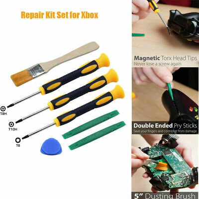 £5.99 • Buy 7Pcs Screwdriver Tool Repair Kit Set For Xbox One /Xbox 360 Controller PS3 /PS4