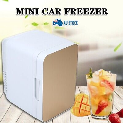 AU48.99 • Buy 8L 2 In1 Home Car Mini Portable Fridge Small Drinks Beer Cooler Bar Freezer AUS
