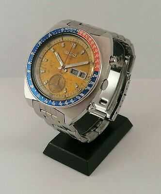 $ CDN1098.57 • Buy !! Montre Ancienne Vintage Watch 70's Seiko Pogue 6139-6002 Serviced  !!
