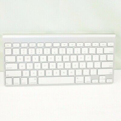 $30 • Buy Apple Wireless Bluetooth Keyboard A1314 Mac Aluminum Silver No Cables Ships Fast