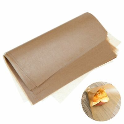 £6.58 • Buy 50Pcs Brown Wax Tissue Paper Wedding Xmas DIY Candy Sweets Food Gift Wrapping