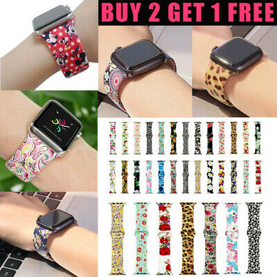 AU12.99 • Buy Silicone Sport Watch Band Strap For Apple Watch Series 6 5 4 3 2 1 42/44/38/40mm