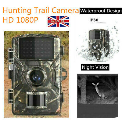 £24.66 • Buy Wildlife Hunting Camera HD 1080P With Waterproof Design For Outdoor Animal Trap