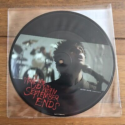 """£24.95 • Buy Green Day - Wake Me Up When September Ends 7""""  Picture Disc  Vinyl"""