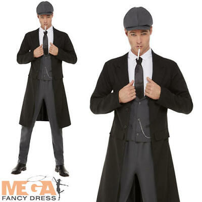 £33.99 • Buy 20s Shelby Gangster Mens Fancy Dress 1920s Peaky Blinders Adults Costume Outfit