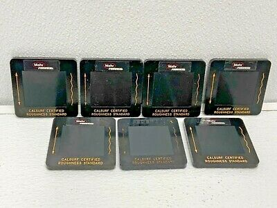 $375 • Buy Mahr Federal Calsurf Certified Roughness Standard Average PMD-90101 Lot Of 7 51D
