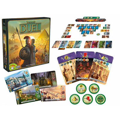 AU79.95 • Buy 7 Wonders Duel Theme Highly Interactive Contemporary Best In Unique Card Game