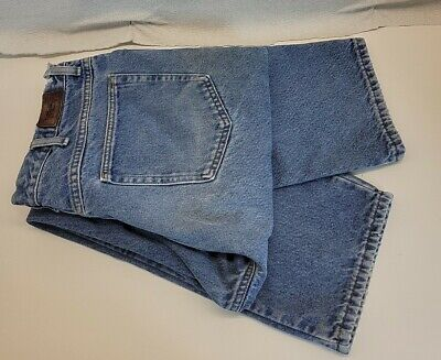 $15.12 • Buy LL Bean Mens Flannel Lined Denim Natural Fit Jeans Size 38 X 32  B38-1296
