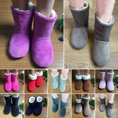 £8.99 • Buy NEW Ladies Girls Slippers Womens Ankle Boots New Memory Foam Winter Warm Booties