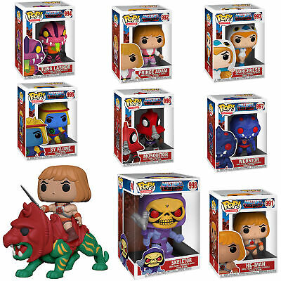 $184.99 • Buy Masters Of The Universe Complete Set (9) W/10  And Funko Pop! Ride