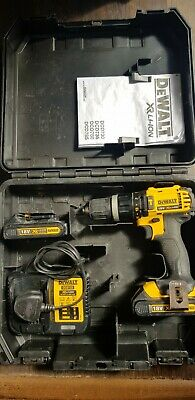 £95 • Buy Dewalt DCD785 18v Cordless Combi Drill, Sold With 2x 1.5.AH Batterys + Charger
