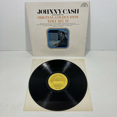 £5.99 • Buy Johnny Cash & The Tennessee Two - Original Golden Hits Vinyl 12' Sun Records
