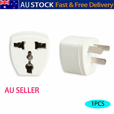 AU7.39 • Buy Universal Travel Power Adapter UK To AU Australia Plug Power Converter Socket-