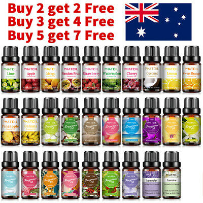 AU7.99 • Buy 10ml Essential Oil Aromatherapy Gift Kit 100% Pure Oils For Humidifier Diffuser