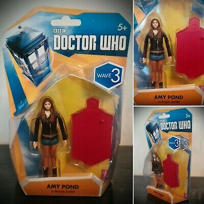 £13 • Buy BNIB Doctor Who Amy Pond Articulated Action Figure 3.75  Wave 3 (Brown Jacket)