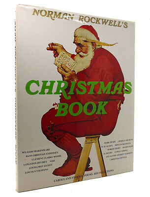 $ CDN114.64 • Buy Norman Rockwell & Molly NORMAN ROCKWELL'S CHRISTMAS BOOK  Reprint 1st Printing