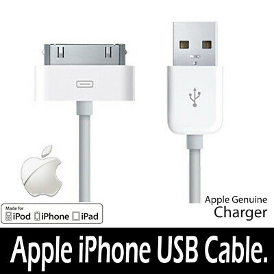 AU2.97 • Buy Genuine Charging Cable Charger Lead For Apple IPhone 4,4S,3GS,iPod,iPad2&1