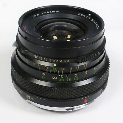 £59.99 • Buy Bronica Etrs 50mm F2.8 Wide Angle Lens Bronica Etrsi ETR Etc  Needs Attention