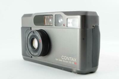 $ CDN1853.69 • Buy [Near Mint] Contax T2 35mm Point & Shoot Titan Black Film Camera From Japan