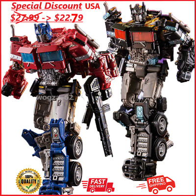 """£20.18 • Buy Optimus Prime Action Figure 7""""  Transformers Alloy Level V New Ko Gift Movie Toy"""