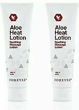 £21.99 • Buy 2 X Forever Living Original Aloe Heat Lotion Soothing Massage Lotion 118/ml New