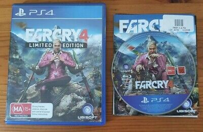 AU16.99 • Buy Far Cry 4 Limited Edition PS4 PlayStation 4 Game - Works With PS5 *TRACKED*