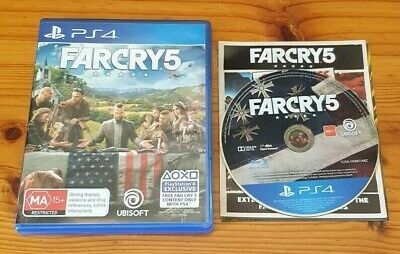 AU20.99 • Buy Far Cry 5 PS4 PlayStation 4 Game *TRACKED*