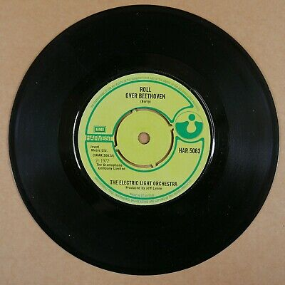 £5 • Buy 45rpm 7  Single Peter ROLL OVER BEETHOVEN Elo Electric Light Orchestra