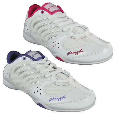 £19.95 • Buy Pineapple Girls DYNAMIC Trainers Lightweight Breathable Mesh Dance Shoes UK3 - 4