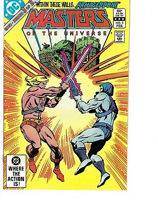 $15 • Buy Dc Comics  Masters Of The Universe  # 3  Clean Flat Book