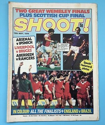 £3.85 • Buy Shoot Magazine 13th May 1978  FA Cup Final Preview Arsenal V Ipswich Town