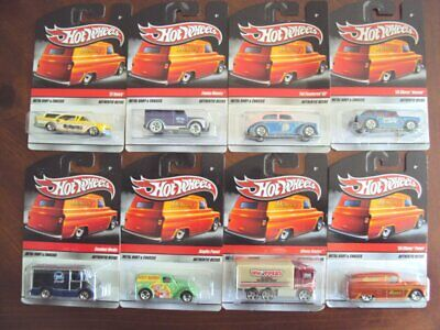 AU26.45 • Buy Lot Of 8 Hot Wheels Sweet Rides, Carded 2009
