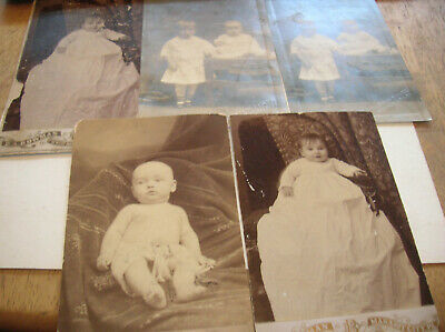 $12.50 • Buy Amazing Collection Of Vtg Early 1900s Cabinet Photos Mahanoy City Pa.id Babys